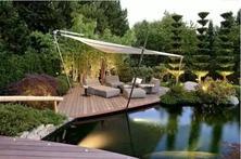 中国的文化内涵深深地镶嵌在了庭院里,超美的庭院设计案例分享,你也可以设计属于自己的院子