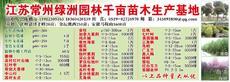 江苏常州绿洲园林千亩苗木生产基地图片